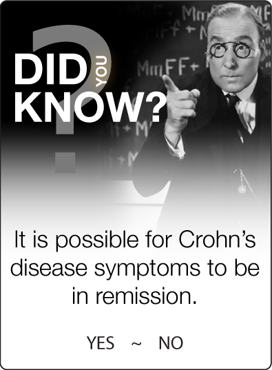 Crohns in remission