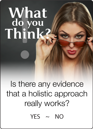 Holistic approach works